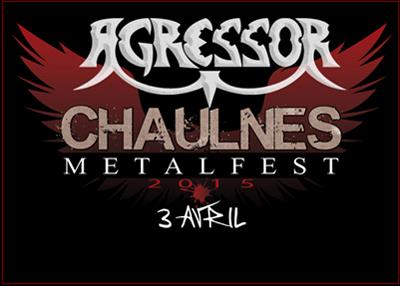 Chaulnes Fr, le 03/04/2015 Chaulnes Metal Fest.