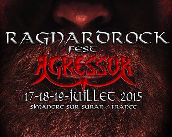 Simandre sur Suran Fr, le 19/07/2015 Ragnard Rock Fest.